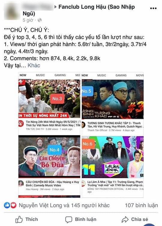 Mũi trưởng Long công khai tình cảm dành cho Hậu Hoàng, làm điều đặc biệt khiến fan náo loạn giữa đêm  - Ảnh 5.