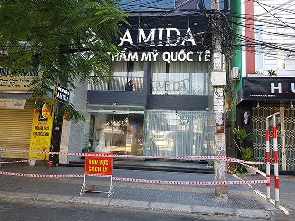 Thẩm mỹ viện AMIDA hiện có số ca dương tính với SARS-CoV-2 lớn nhất ở Đà Nẵng trong đợt dịch lần này