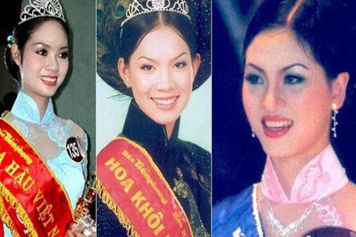 """Cuộc sống lặng lẽ và """"bí ẩn"""" của top 3 Hoa hậu Việt Nam 2002"""