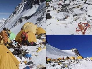 17 bức ảnh thú vị tiết lộ những sự thật khiến bạn 'ngã ngửa', trên đỉnh Everest có gì?