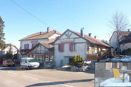 Tới khách sạn này, du khách sẽ nằm ngủ giữa 2 quốc gia Pháp và Thụy Sĩ