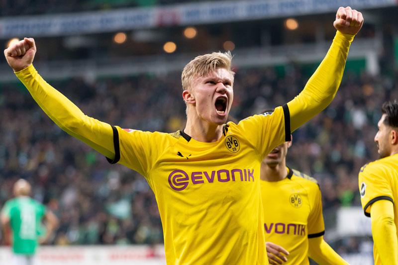 2. Erling Haaland, Borussia Dortmund - 113 triệu bảng.