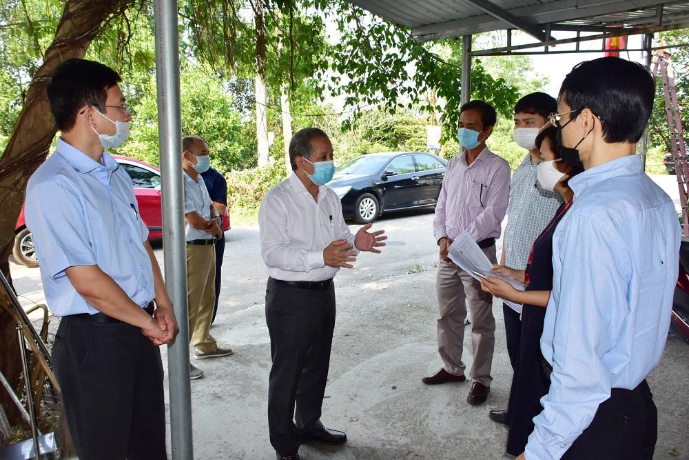 Chủ tịch UBND tỉnh Thừa Thiên Huế Phan Ngọc Thọ chỉ đạo công tác đảm bảo an toàn sản xuất kinh doanh đối với Công ty SCAVI.