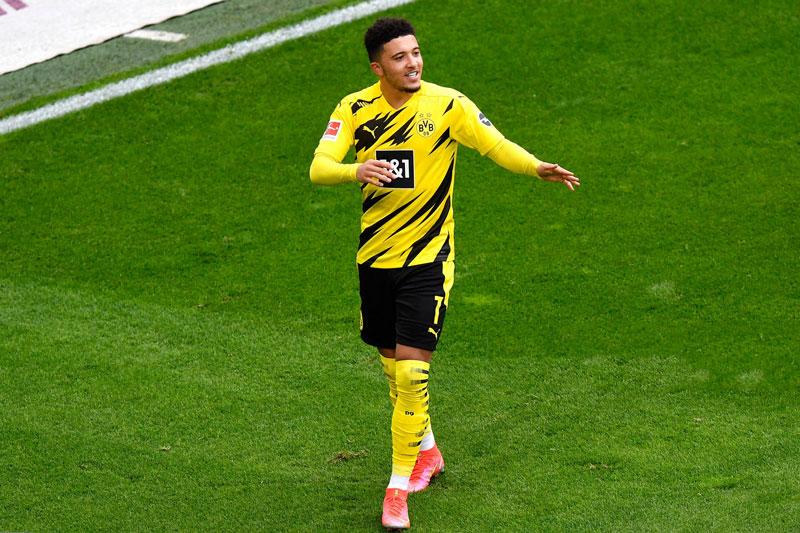 8. Jadon Sancho, Dortmund - 95 triệu bảng.
