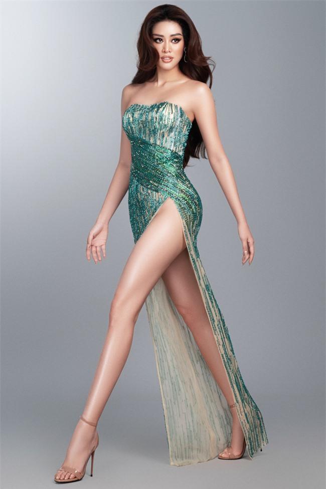 Khánh Vân hé lộ trang phục dạ hội nóng bỏng trước thềm bán kết Miss Universe 2020 - Ảnh 5.