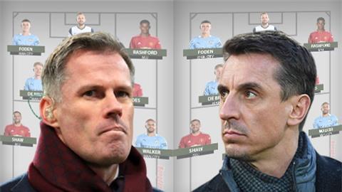 Neville và Carragher chọn Đội hình xuất sắc nhất Ngoại hạng Anh 2020/21