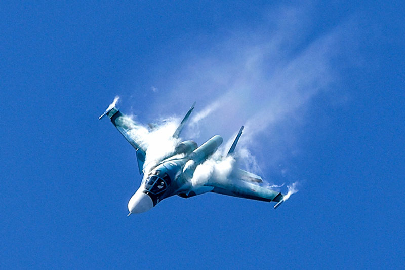 Tiêm kích Su-34.