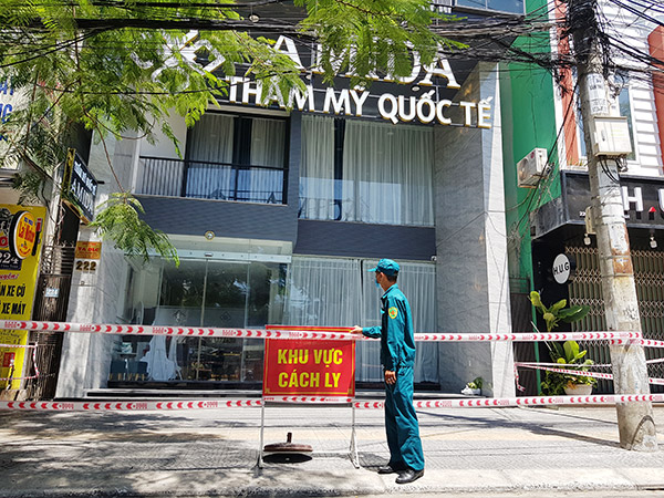 Thẩm mỹ viện AMIDA hiện có số bệnh nhân dương tính với SARS-CoV-2 cao nhất trên địa bàn Đà Nẵng kể từ ngày 3/5 đến nay
