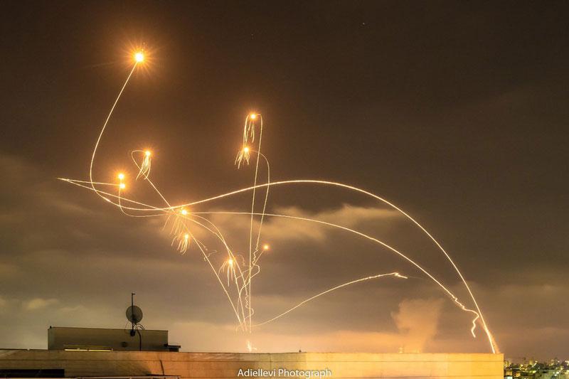 Hiệu quả đánh chặn tên lửa từ hệ thống phòng không Vòm sắt của Israel chưa đến 30%