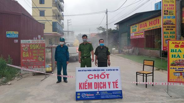 Ổ dịch tại khu công nghiệp tại Bắc Giang đang được kiểm soát chặt chẽ. Ổ dịch tại khu công nghiệp tại Bắc Giang đang được kiểm soát chặt chẽ.