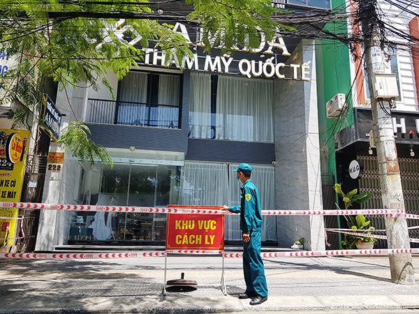 Đà Nẵng: 4 người trong nhà Tổng GĐ Thẩm mỹ viện AMIDA dương tính với SARS-CoV-2