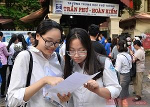 Hà Nội công bố lịch xét tuyển thẳng vào 10