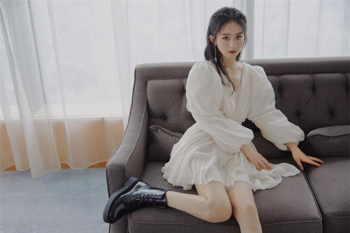 Những mỹ nhân Hoa ngữ đẹp nhất trong mắt người Hàn Quốc: Dương Mịch mất hút, Triệu Lệ Dĩnh và Địch Lệ Nhiệt Ba vẫn phải lép vế trước nữ idol này - Ảnh 12.
