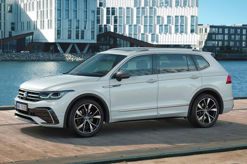 Volkswagen Tiguan Allspace 2022 ra mắt: Nhiều tùy chọn động cơ, thiết kế ấn tượng hơn