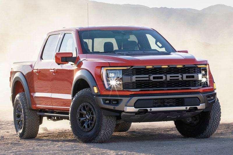 3. Ford F-Series (doanh số: 238.854 chiếc).