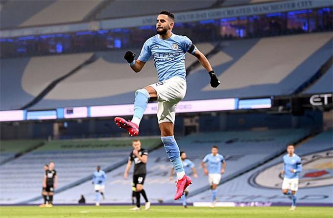 Mahrez vẫn sẽ là trụ cột của Man City mùa tới
