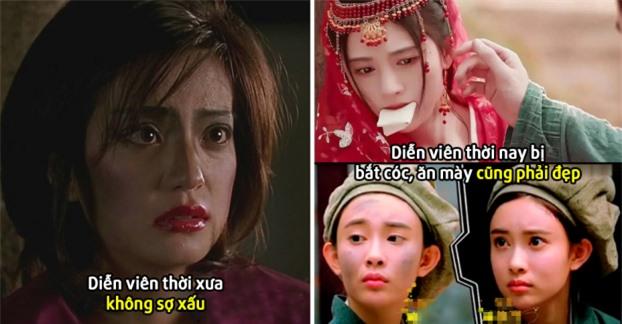 Cúc Tịnh Y, Đường Yên và những mỹ nhân Cbiz bị chỉ trích vì đóng phim nhưng sợ xấu