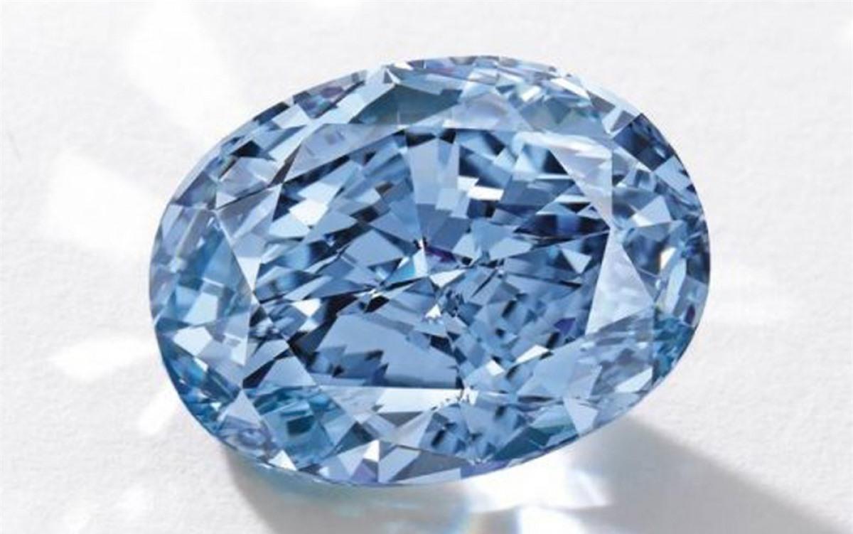 Viên kim cương xanh Blue Diamond có giá 3,93 triệu USD mỗi carat.