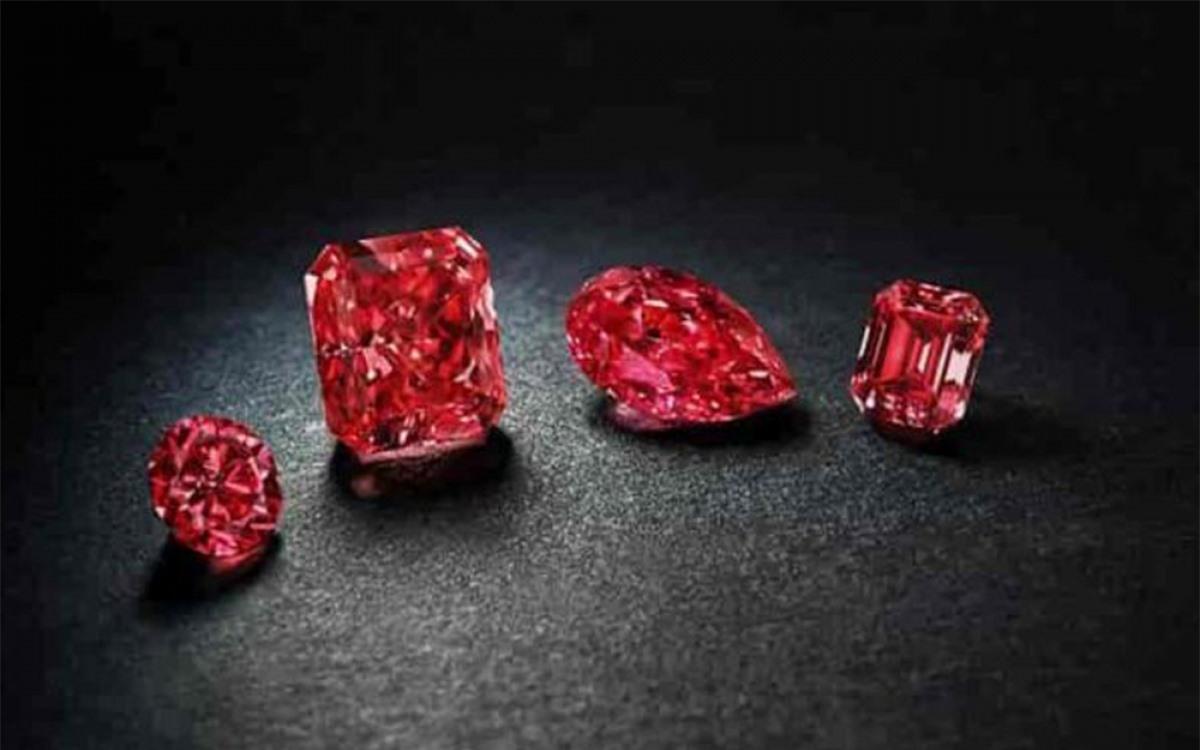 Mỗi carat kim cương đỏ Red Diamond có giá 1 triệu USD. Kim cương đỏ còn hiếm hơn cả kim cương hồng và kim cương xanh.