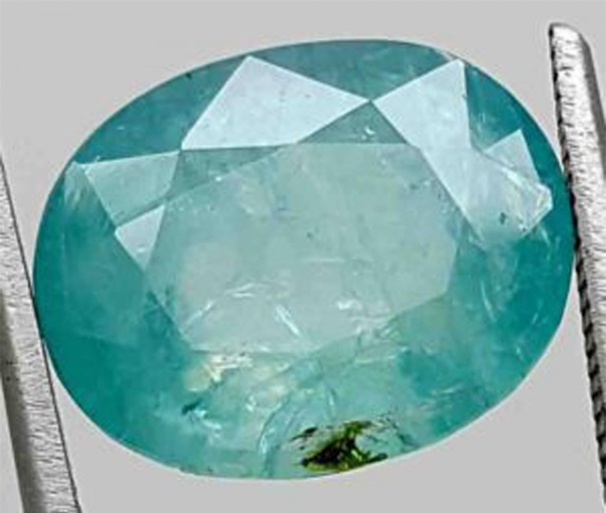Được phát hiện ở miền nam Madagascar vào năm 1902, viên đá Grandidierite này có giá 20.000 USD mỗi carat.
