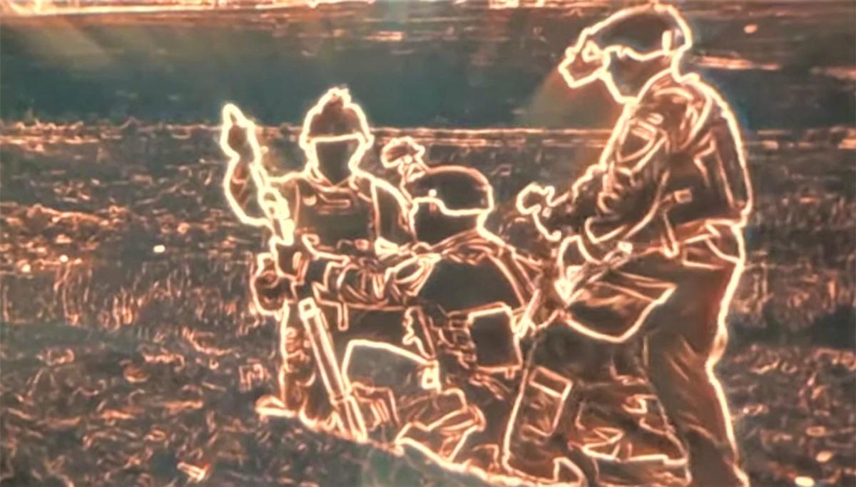 Hình ảnh nhìn qua ENVG-B; Nguồn: naukatehnika.com