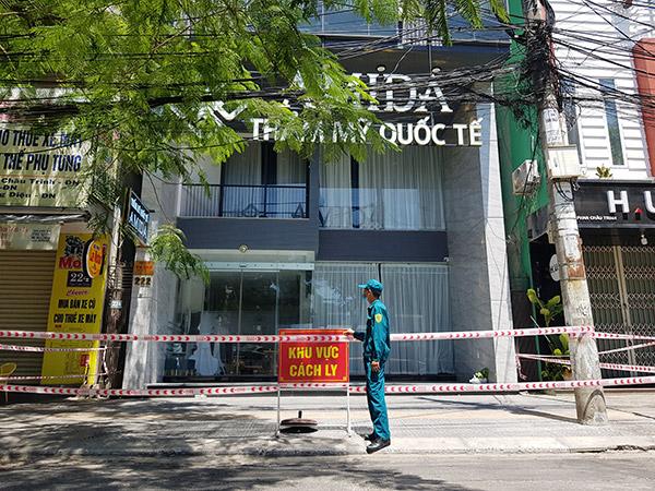 Thẩm mỹ viện AMIDA - Ổ dịch lớn nhất trên địa bàn Đà Nẵng tính từ ngày 3/5 đến chiều 12/5
