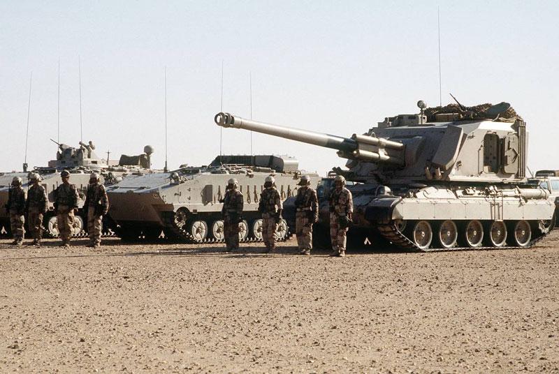 Quân đội Ả Rập Saudi.