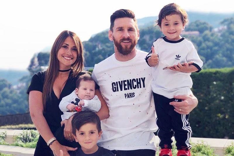 Khối tài sản đáng mơ ước của vợ Messi