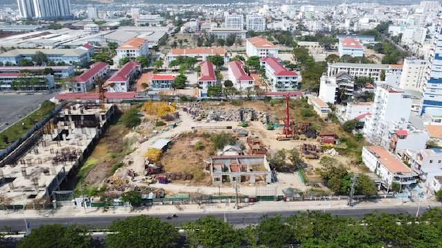 Dự án Nha Trang Golden Gate, địa chỉ 28E Trần Phú, phường Vĩnh Nguyên, TP Nha Trang, tỉnh Khánh Hòa.