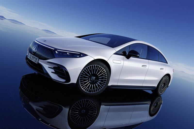 Khám phá xe sang chạy điện Mercedes-Benz EQS 2022
