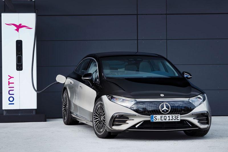 Mercedes-Benz EQS 2022. Ảnh: mercedes-Benz.