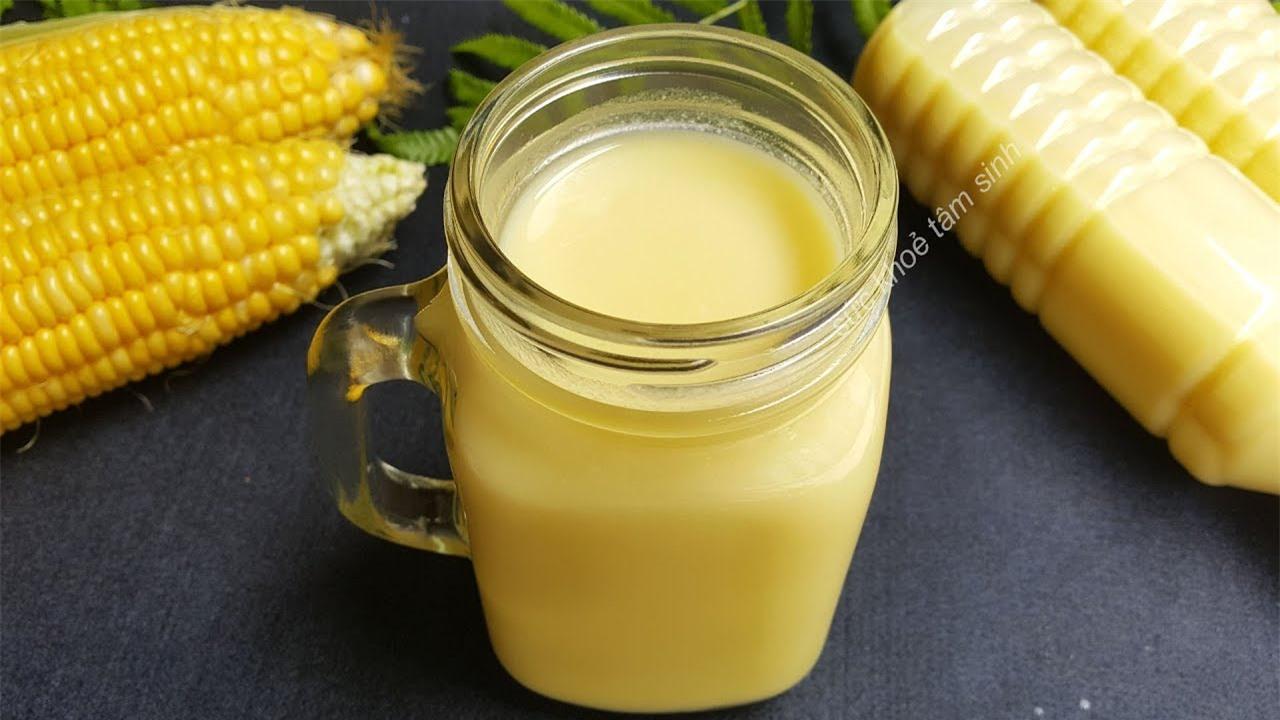 3 công thức làm sữa hạt cho trẻ ngon mà lành mạnh