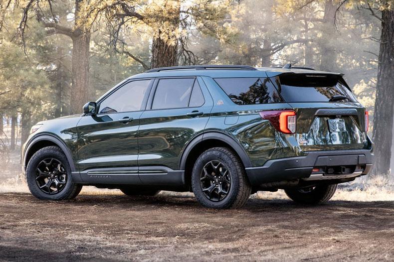 Chi tiết Ford Explorer phiên bản off-road, giá gần 1,1 tỷ đồng