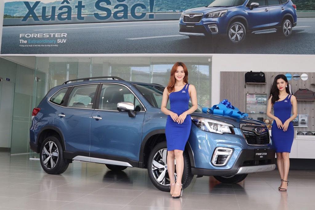 Bảng giá xe Subaru tháng 5/2021: Giảm giá 'sập sàn'