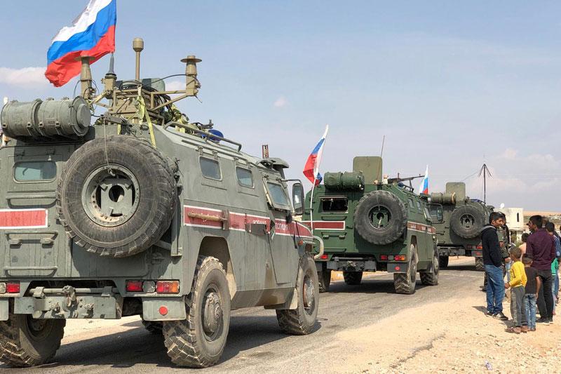 Lực lượng gìn giữ hòa bình Nga. Ảnh minh họa.