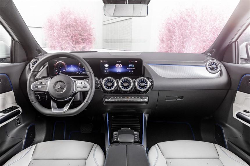 Xe SUV dien Mercedes EQA co them phien ban 300 4Matic va 350 4Matic anh 3