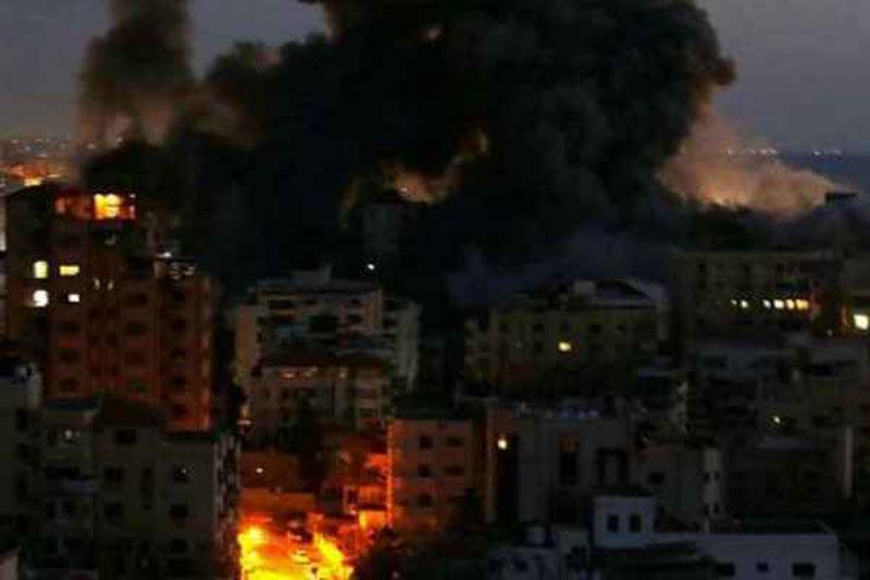 Tình hình dải Gaza đang rất căng thẳng.