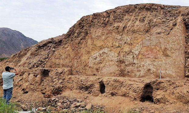 Các chuyên gia tin rằng ngôi đền được xây dựng bởi nền văn hóa Cupisnique. Ảnh: AFP/Getty Images.