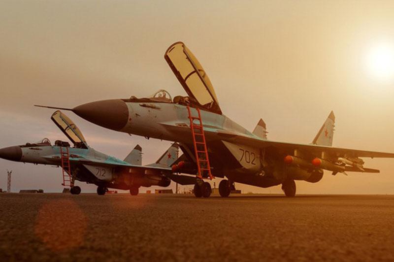 Máy bay chiến đấu Mig-35.