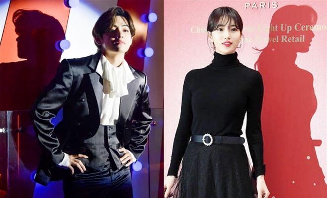 Suzy và V (BTS) gây sốt vì chiếc bóng phản chiếu hoàn hảo, quả nhiên người đẹp đến bóng cũng đẹp như mơ - Ảnh 2.