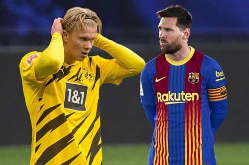 Barcelona 'đại phẫu': Tống tiễn 14 cầu thủ, quyết mua Haaland đá cặp Messi