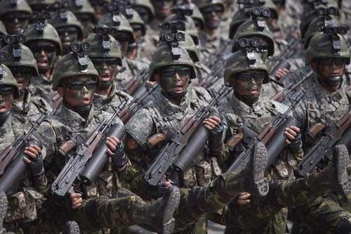 Súng trường Type 88 của Quân đội Nhân dân Triều Tiên.