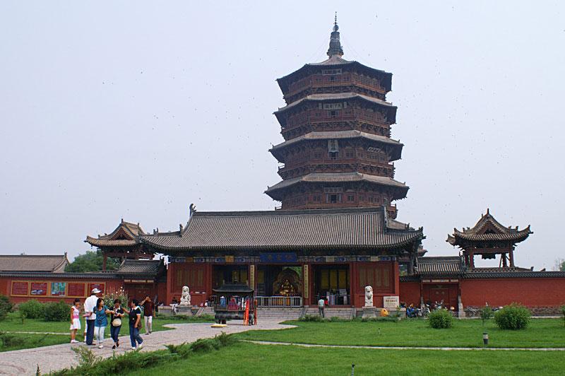 Tận mục ngôi đền gỗ cao nhất thế giới