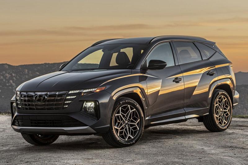Cận cảnh Hyundai Tucson N Line 2022, giá hơn 700 triệu đồng