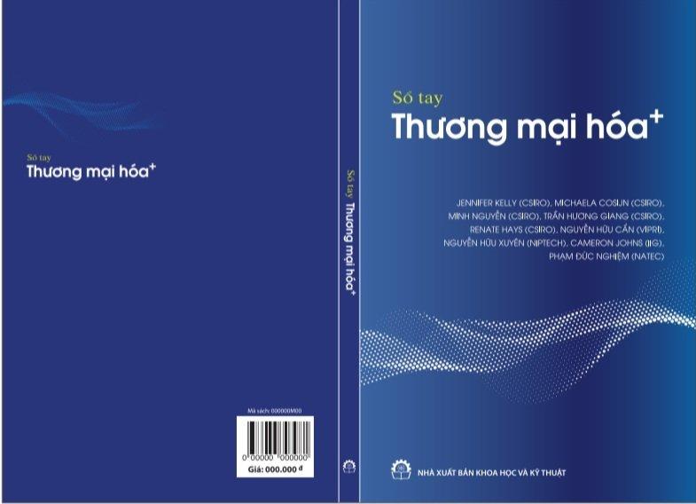 Sổ tay hướng dẫn Thương mại hóa kết quả nghiên cứu sẽ được công bố online vào 18/5/2021