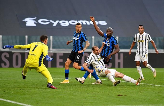 Suýt chút nữa Chiellini trở thành tội đồ khiến Juventus thua trận