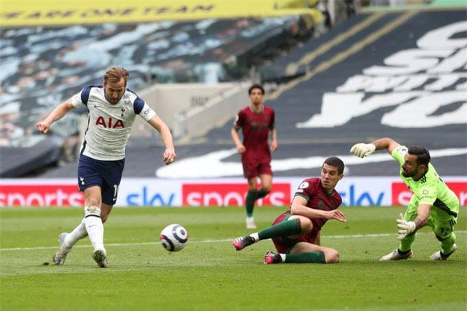 Bàn thắng ở đẳng cấp rất cao của Kane trong trận Tottenham thắng Wolves