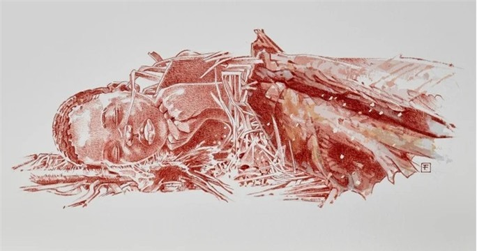 Phát hiện mộ Homo sapiens cổ xưa nhất thế giới, như vượt thời gian - Ảnh 3.