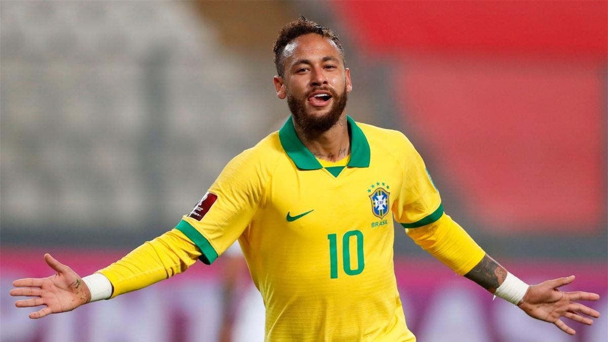 6. Neymar - ĐT Brazil (64 bàn/103 trận)