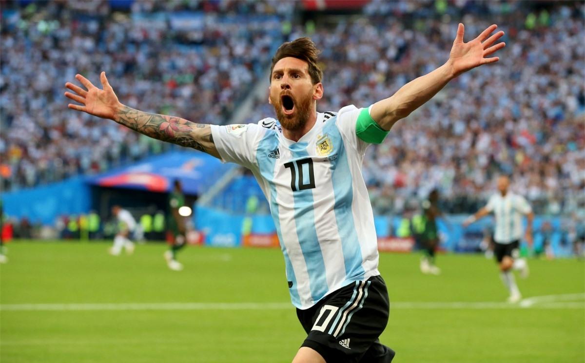 3. Lionel Messi - ĐT Argentina (71 bàn/142 trận)
